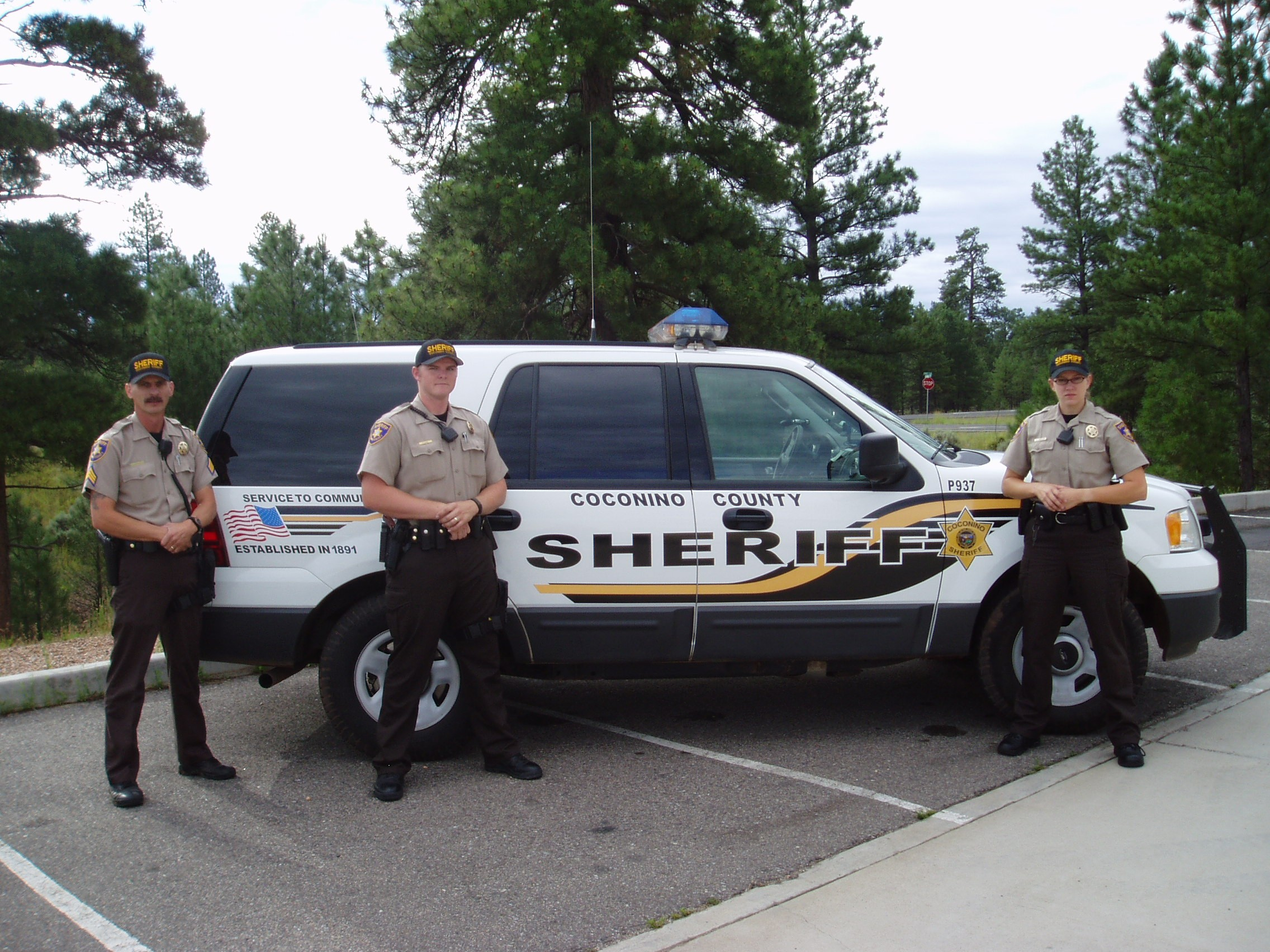 Coconino County Sheriff Office vehicle