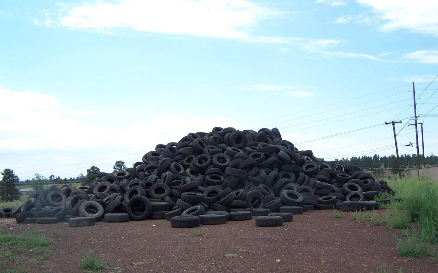 Waste Tire Yard