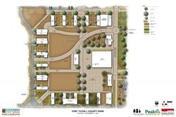 Fort Tuthill County Park Quad Concept Plan