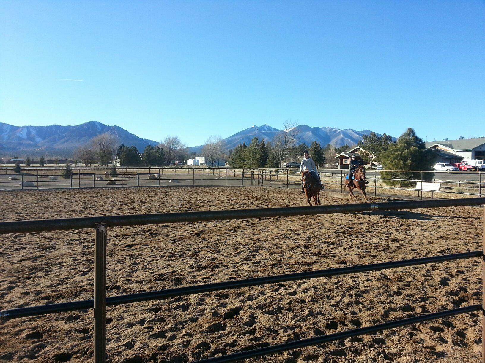 Community Equestrian Arena at Peaks View County Park