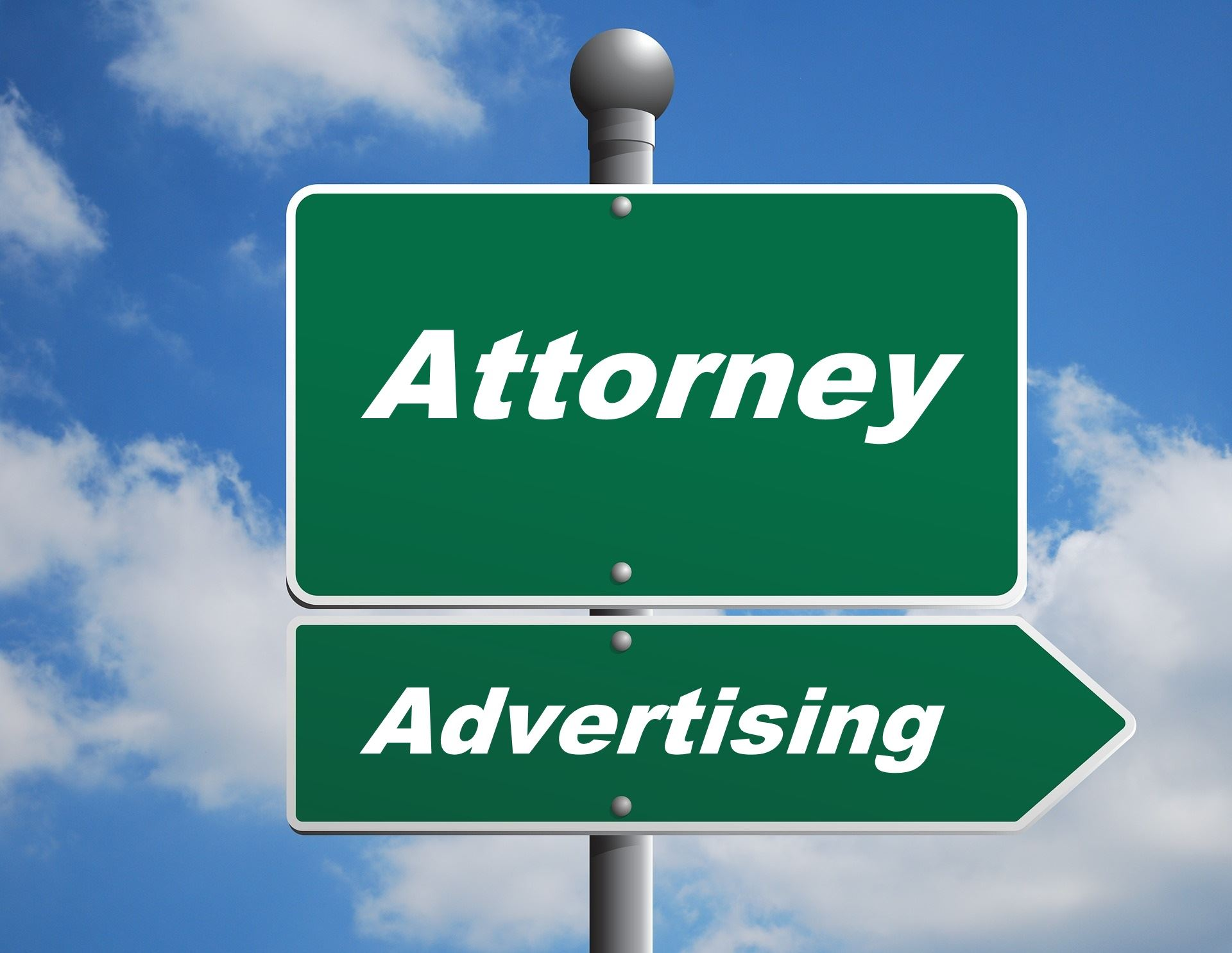 attorney advertising logo