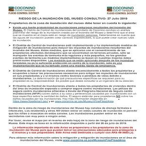Museum Flood Advisory_Español