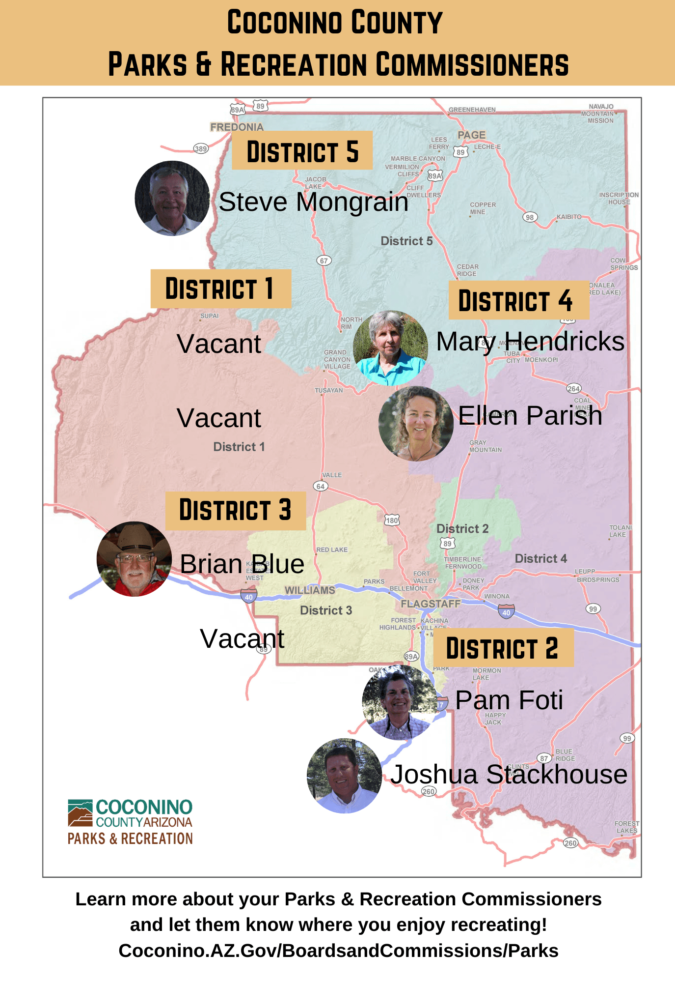 CC PRC members and districts