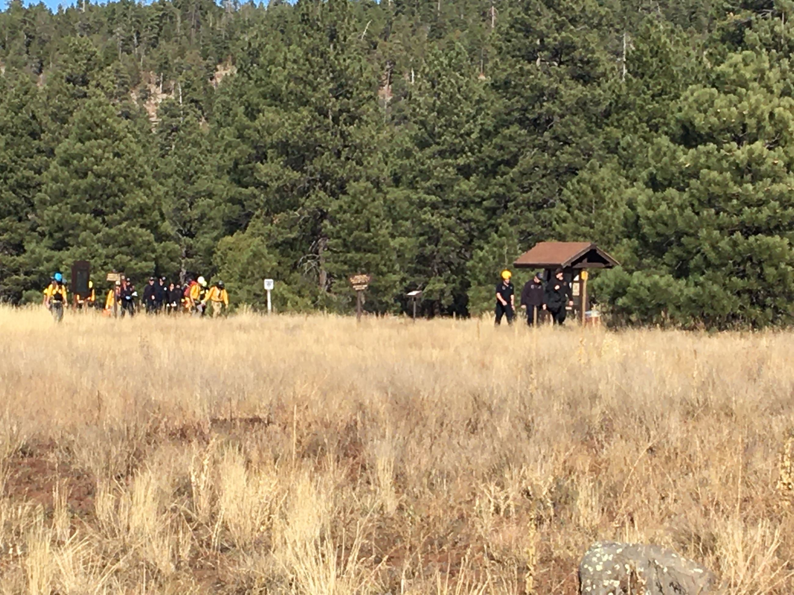 Pit SAR Coconino Sheriff's SAR photo Oct 2019