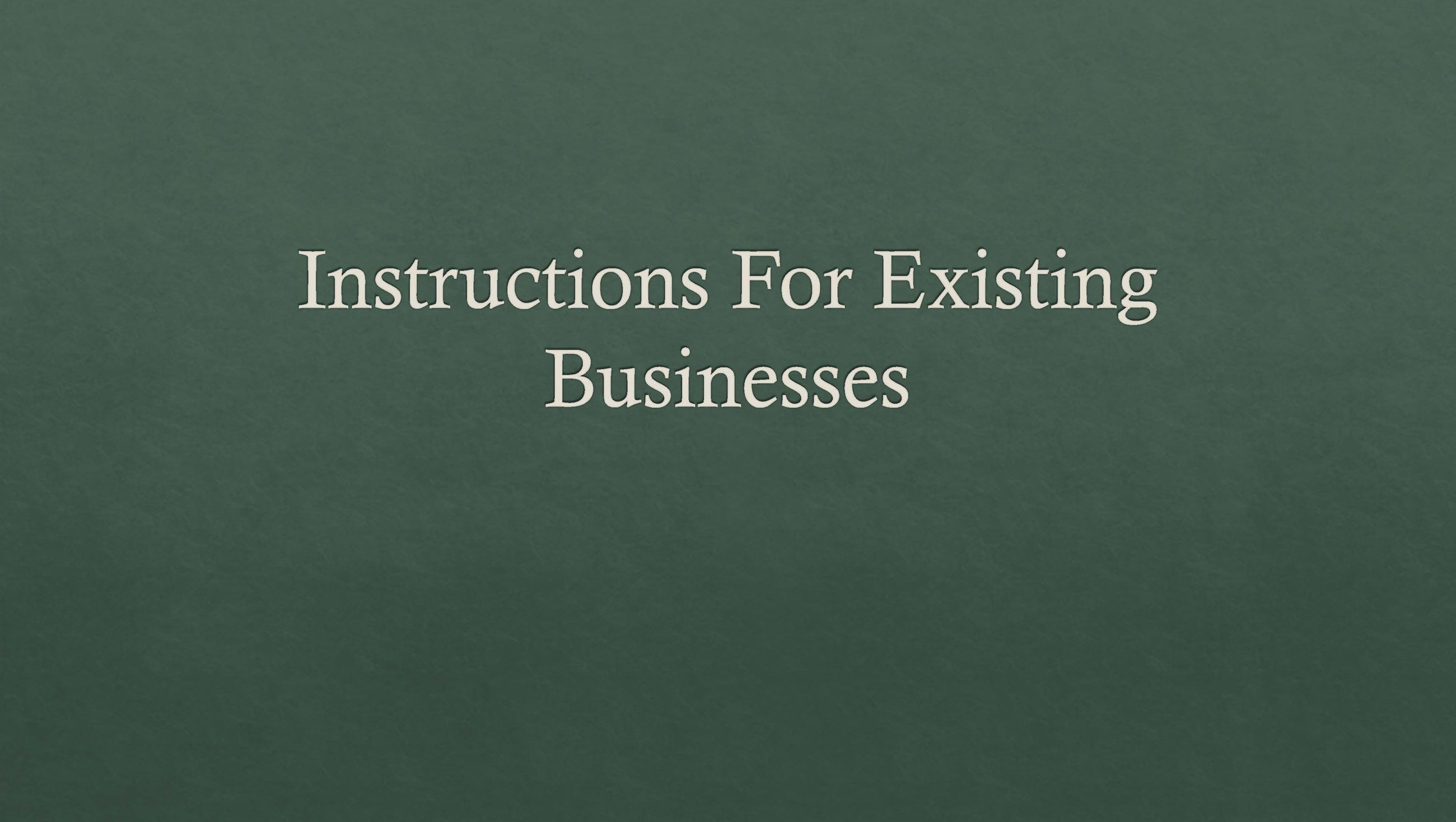 Existing Business_Part1