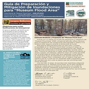 2020 Museum Flood Guide - Spanish