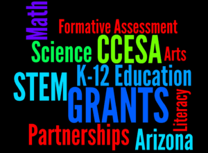 Educational CCESA STEM word art
