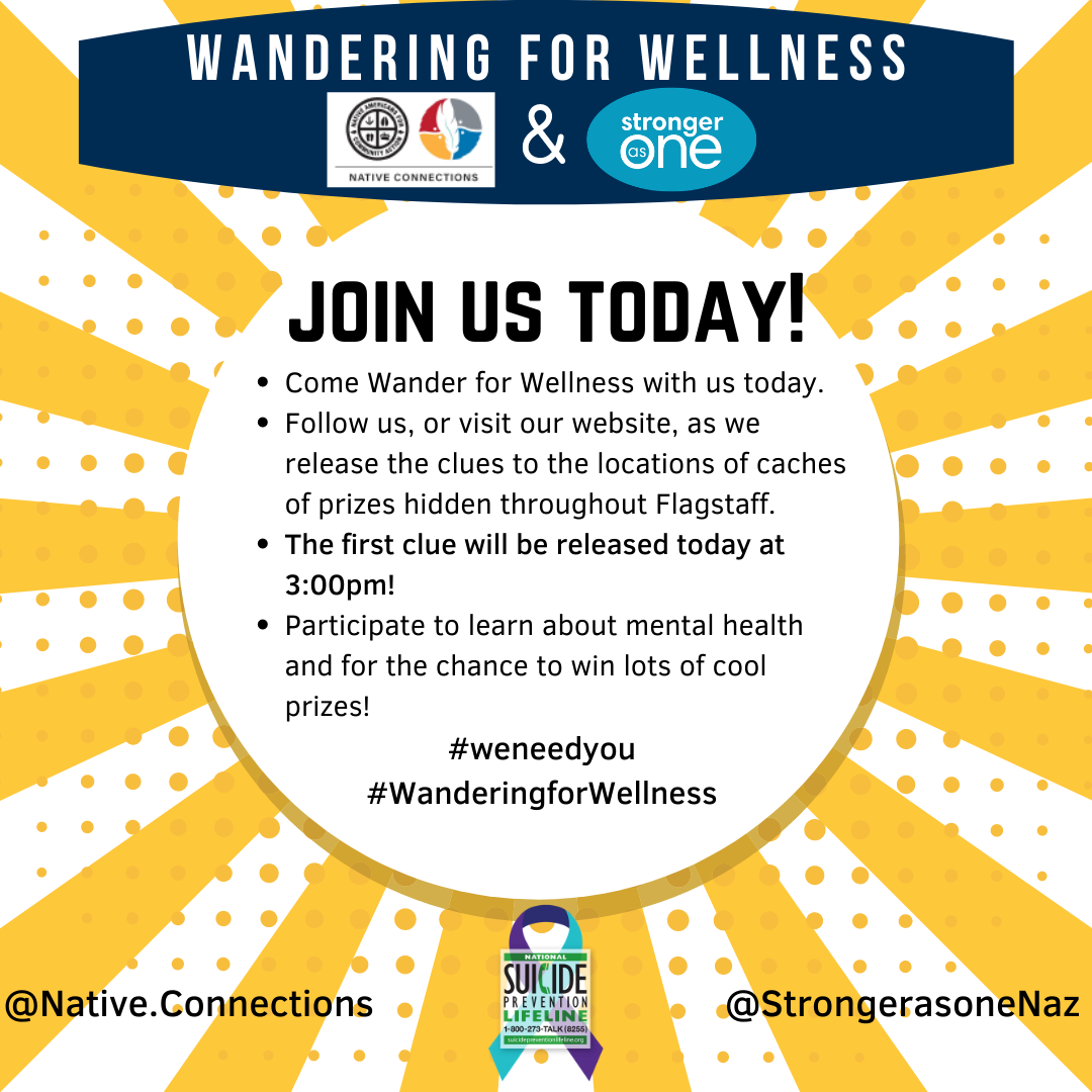 Wandering for Wellness: Join us today!