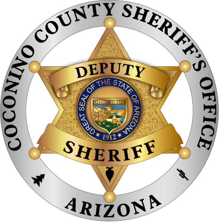 C-118379 Coconino Co Sheriff Deputy Sheriff Badge AA.JPG