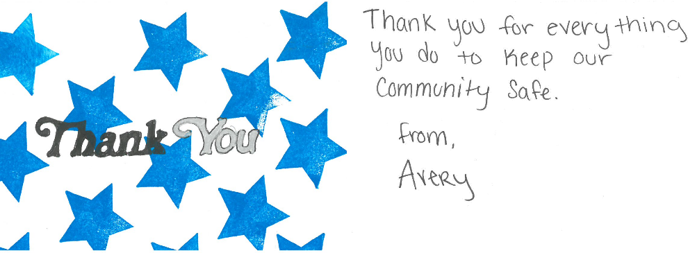 Citizen Thank You Card