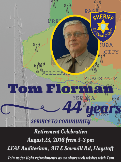 Tom Florman Retirement