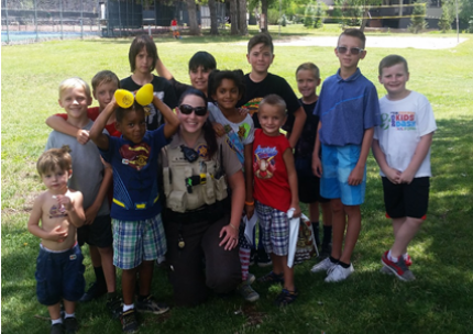 Munds Park Kids Safety and Deputy