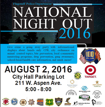 National Night Out 2016 Flagstaff