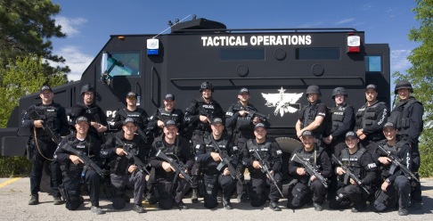 Northern Arizona Tactical Team - photo by Tom Alexander