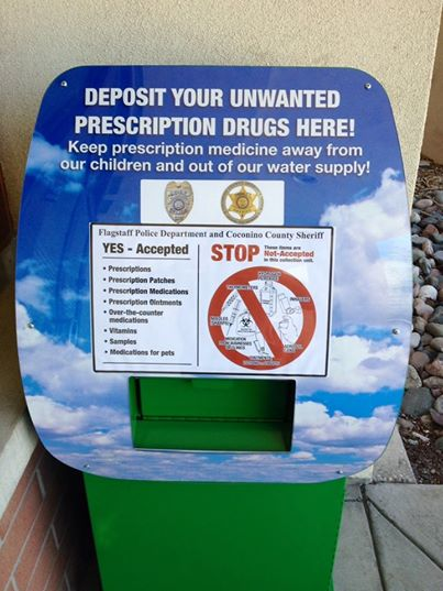 Coconino County Sheriff's Drug Drop Box